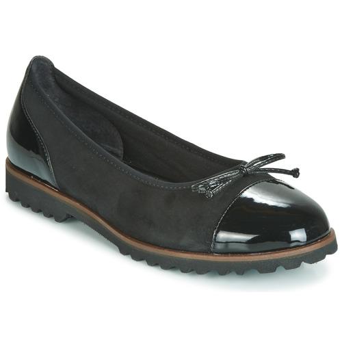 Chaussures Femme Ballerines / babies Gabor KARAKIL Noir