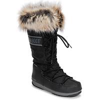 Chaussures Femme Bottes de neige Moon Boot MOON BOOT MONACO WP 2 Noir