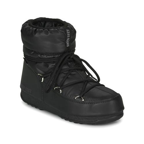 Chaussures Femme Bottes de neige Moon Boot MOON BOOT LOW NYLON WP 2 Noir