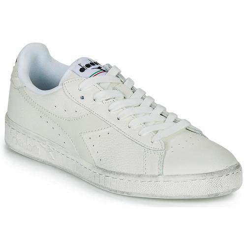 Chaussures Baskets basses Diadora GAME L LOW WAXED Blanc