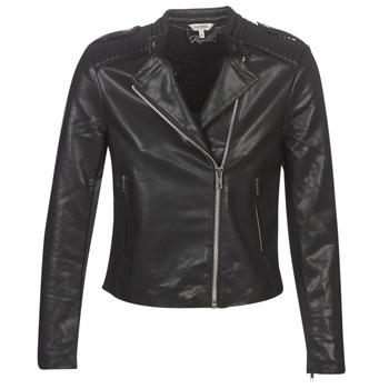 Vêtements Femme Vestes en cuir / synthétiques Kaporal XUT Noir