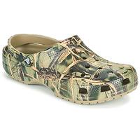 Chaussures Homme Sabots Crocs CLASSIC REALTREE Kaki