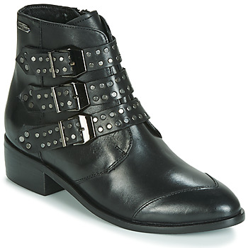 Chaussures Femme Boots Pepe jeans CHISWICK EASY Noir