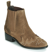 Chaussures Femme Boots Pepe jeans CHISWICK LESSY Marron