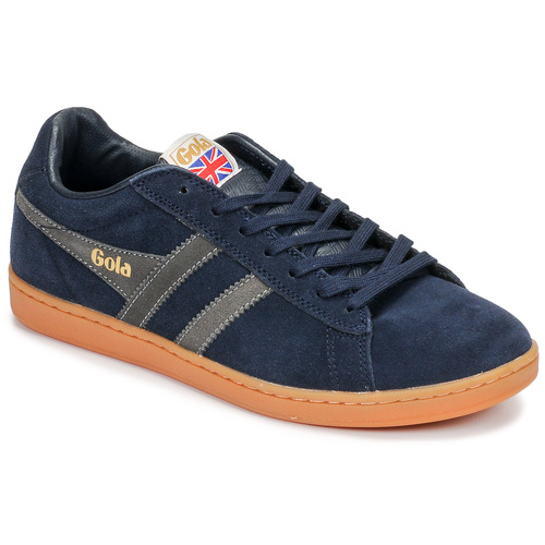 Chaussures Homme Baskets basses Gola EQUIPE SUEDE Bleu