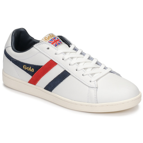 Chaussures Homme Baskets basses Gola EQUIPE Blanc / Bleu / Rouge