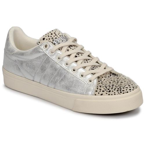 Chaussures Femme Baskets basses Gola ORCHID II CHEETAH Blanc / Argent