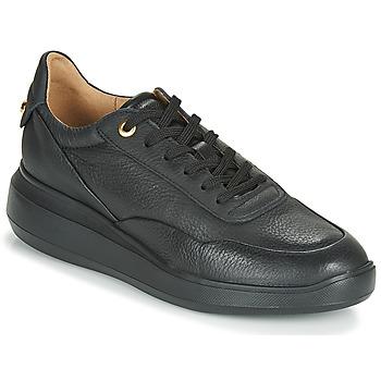Chaussures Femme Baskets basses Geox D RUBIDIA Noir