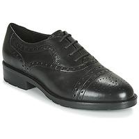 Chaussures Femme Derbies Geox D BETTANIE Noir