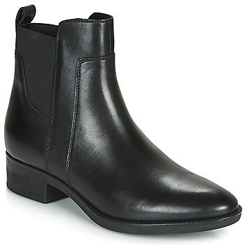 Chaussures Femme Boots Geox D FELICITY Noir