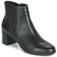 Chaussures Femme Bottines Geox NEW ANNYA MID Noir