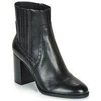 Chaussures Femme Bottines Geox D JACY HIGH Noir