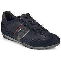 Chaussures Homme Baskets basses Geox U WELLS Marine