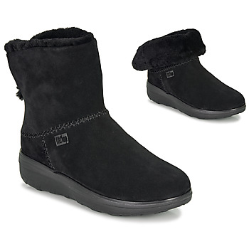Chaussures Femme Boots FitFlop MUKLUK SHORTY III Noir