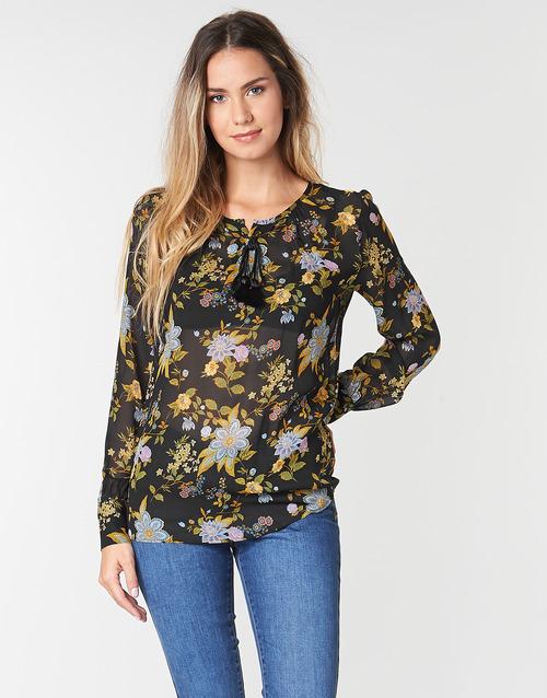 Vêtements Femme Tops / Blouses Ikks BP13125-02 Noir / Multicolore