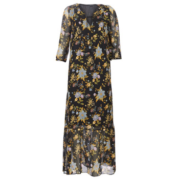 Vêtements Femme Robes longues Ikks BP30195-02 Noir / Multicolore