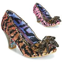 Chaussures Femme Escarpins Irregular Choice LADY BANJOE Noir / Doré