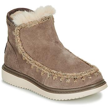 Chaussures Fille Bottes de neige Geox J THYMAR GIRL Gris