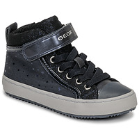 Chaussures Fille Baskets montantes Geox J KALISPERA GIRL Bleu
