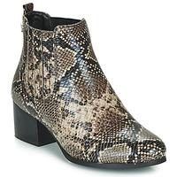Chaussures Femme Bottines Les Petites Bombes CHIRAZ Marron