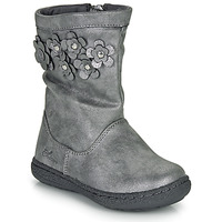 Chaussures Fille Bottes ville Chicco CLEDIA Gris