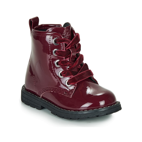 Chaussures Fille Boots Chicco COLLES Bordeau