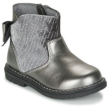 Chaussures Fille Boots Chicco CORRY Gris