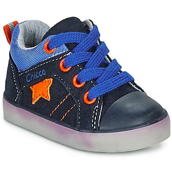 Chaussures Garçon Baskets montantes Chicco GRADO Bleu