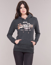 Vêtements Femme Sweats Superdry VINTAGE LOGO METALWORK ENTRY HOOD Gris