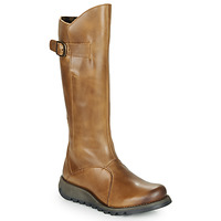 Chaussures Femme Bottes ville Fly London MOL 2 Camel