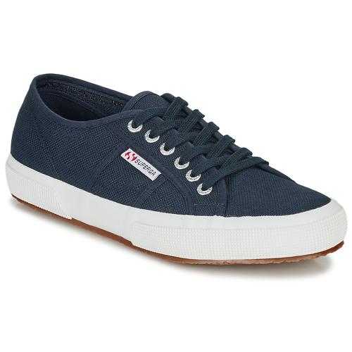 Chaussures Baskets basses Superga 2750 COTU CLASSIC Bleu marine