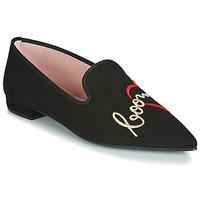 Chaussures Femme Ballerines / babies Pretty Ballerinas  Noir