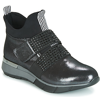 Chaussures Femme Baskets montantes Metamorf'Ose FAGNO Noir