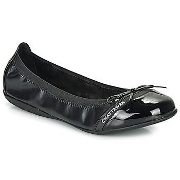 Chaussures Femme Ballerines / babies Chattawak CAPRICE Noir