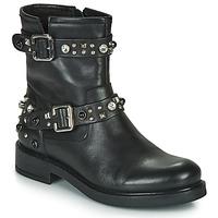 Chaussures Femme Boots Café Noir CHARLIE Noir