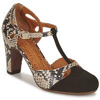 Chaussures Femme Escarpins Chie Mihara KUNA Noir / Beige