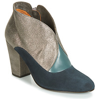Chaussures Femme Bottines Chie Mihara ELGI Argenté / Marine
