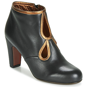 Chaussures Femme Bottines Chie Mihara KOSPI Noir / Doré