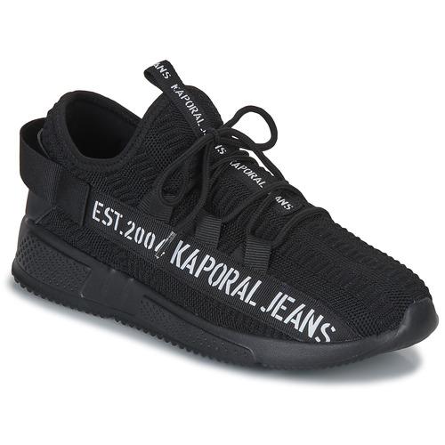 Chaussures Homme Baskets basses Kaporal DOFINO Noir