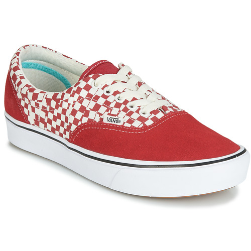 Chaussures Baskets basses Vans COMFYCUSH ERA Rouge / Blanc