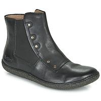 Chaussures Femme Boots Kickers HAPPLI Noir