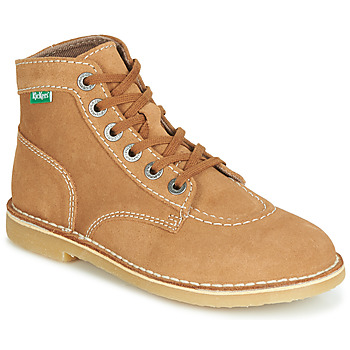 Chaussures Femme Boots Kickers ORILEGEND Camel
