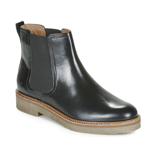 Chaussures Femme Boots Kickers OXFORDCHIC Noir