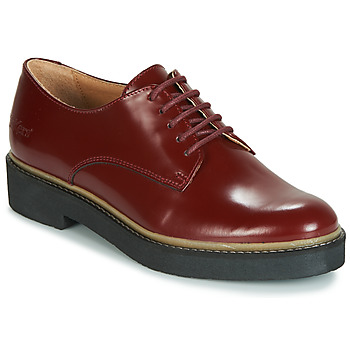 Chaussures Femme Derbies Kickers OXFORK Rouge