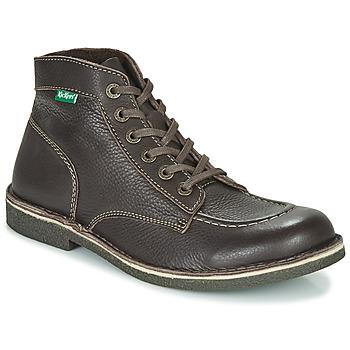Chaussures Homme Boots Kickers KICKSTONER Marron Foncé