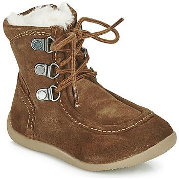 Chaussures Enfant Bottes ville Kickers BAMARA Camel