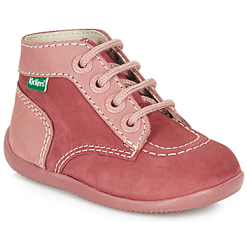 Chaussures Fille Boots Kickers BONBON Rose