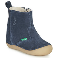 Chaussures Enfant Bottes ville Kickers SOCOOL Marine
