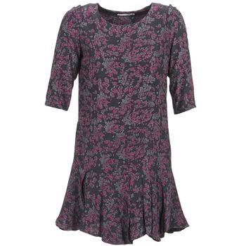 Vêtements Femme Robes courtes See U Soon BOETICO Noir / Violet