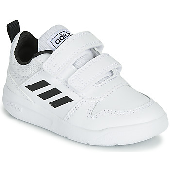 Chaussures Enfant Baskets basses adidas Performance VECTOR I Blanc / Noir